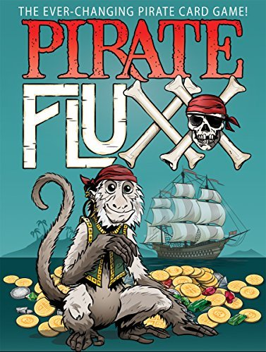 Andrew Looney Pirate Fluxx Card Game