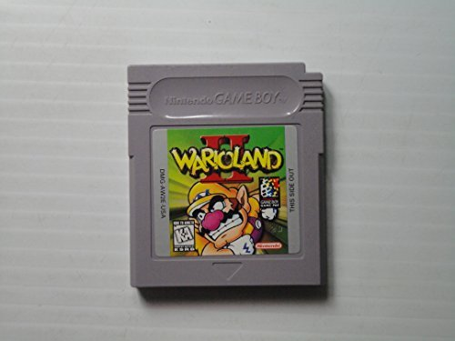 Gameboy Wario Land Ii (original Gameboy)