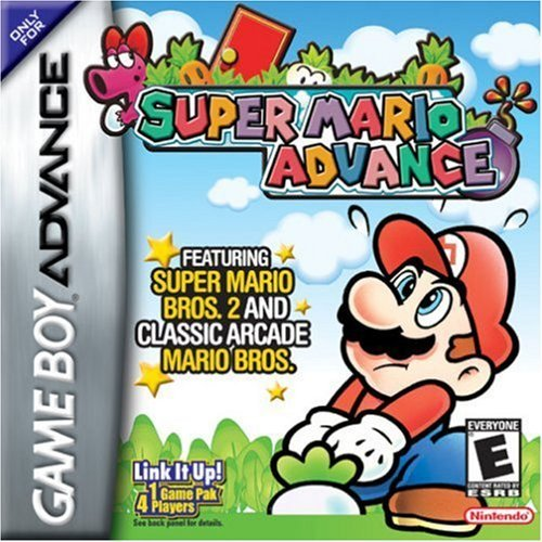 Gba Super Mario Advance E