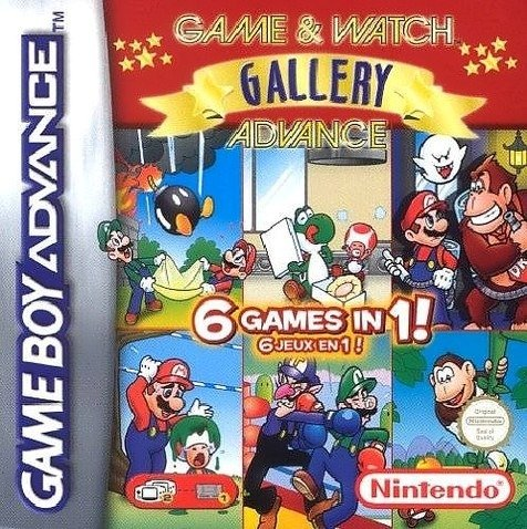 Gba Game & Watch Gallery 4