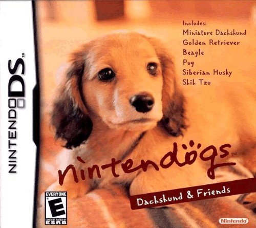 Nintendo Ds Nintendogs Mini Dachshund
