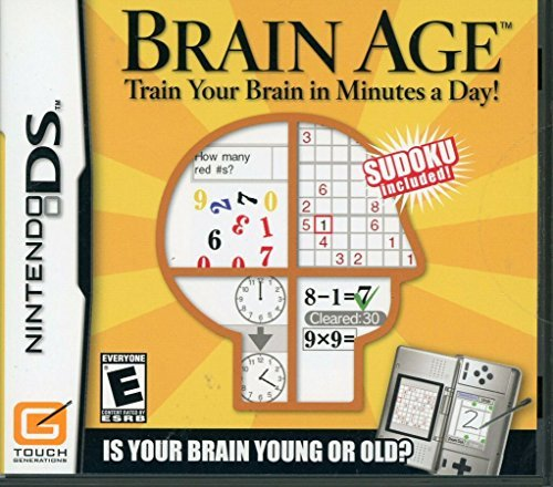 Nintendo Ds Brain Age Train Your Brain