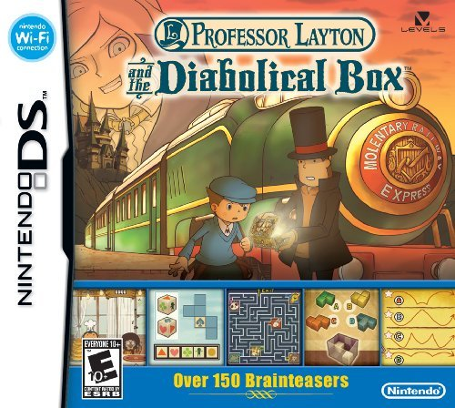 Nintendo Ds Professor Layton And The Diabolical Box