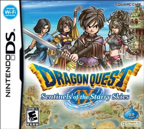 Nintendo Ds Dragon Quest Ix Sentinels Of The Starry Sky