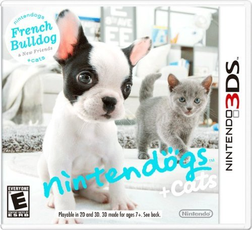 Nintendo 3ds Nintendogs + Cats French Bulldog