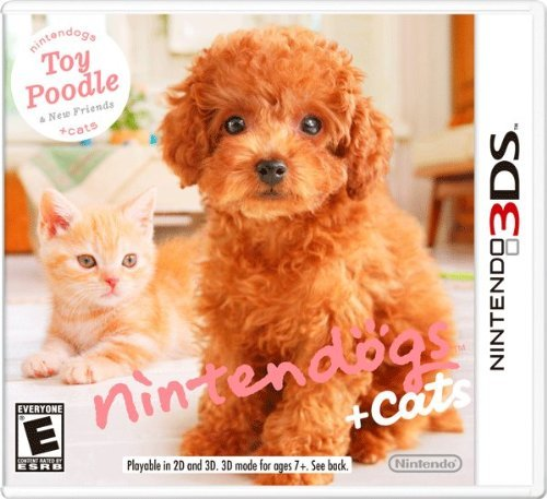 Nintendo 3ds Nintendogs + Cats Toy Poodle & New Friends