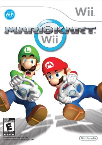 Wii Mario Kart Without Wii Wheel Do Not Order New