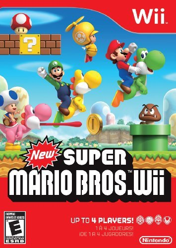 Wii New Super Mario Brothers