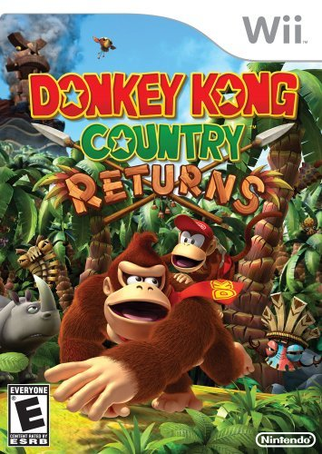 Wii Donkey Kong Country Returns Nintendo Of America E