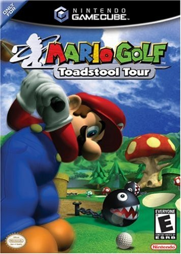 Cube Mario Golf Toadstool Tour