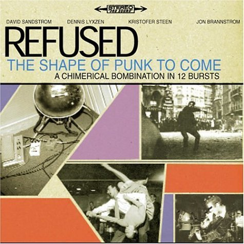 Refused Shape Of Punk To Come DVD Audio