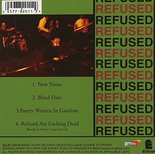 Refused New Noise Theology Ep CD Rom