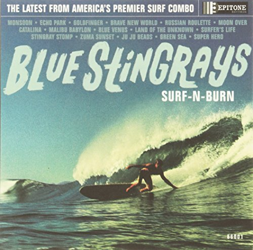 Blue Stingrays Surf 'n' Burn