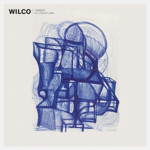 Wilco I Might I Love My Label 7 Inch Single Black Vinyl