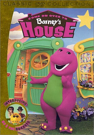 Come On Over To Barney's House Barney Chnr Classic Col