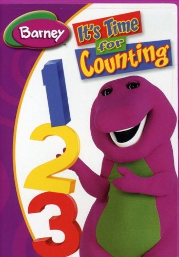 It Time For Counting Barney Ws Nr