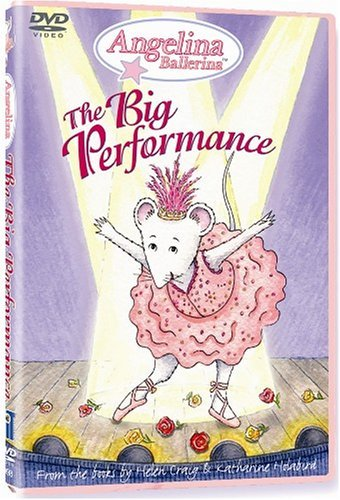 Angelina Ballerina Big Performance Clr Nr