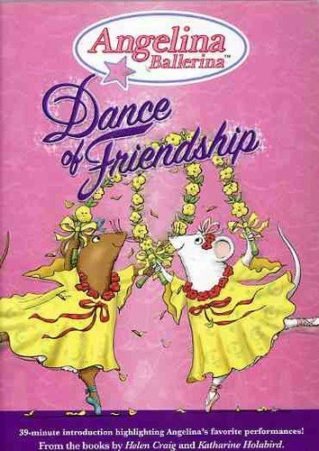Angelina Ballerina Dance Of Friendship Clr Chnr
