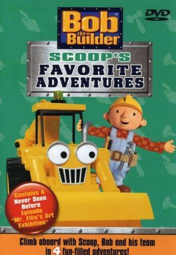 Bob The Builder Scoops Favorite Adventures Clr Nr