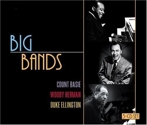 Big Bands Big Bands Basie Herman Ellington 3 CD