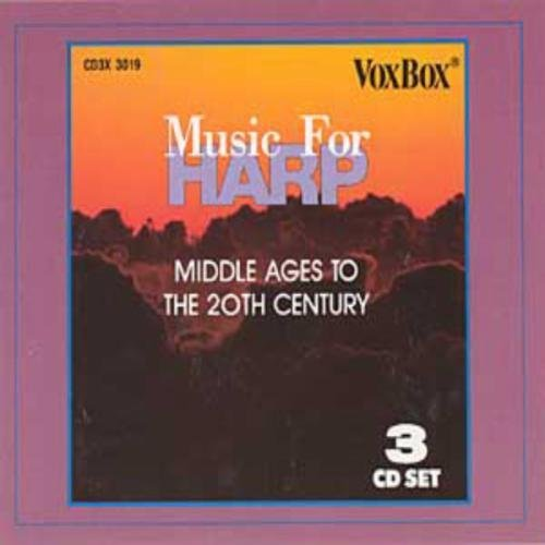 Music For Harp Middle Ages To The 20th Centur