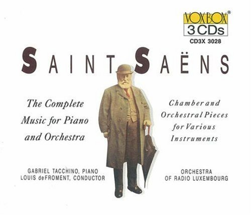 C. Saint Saens Piano Music Chbr & Orch Pieces Froment Luxembourg Rad Orch