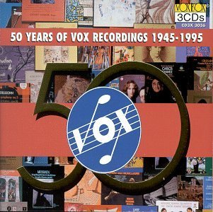 Fifty Years Of Vox Recordings 1945 95 Various Various
