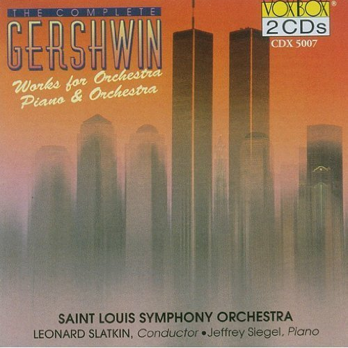 G. Gershwin Works For Orch For Pno & Orch Siegel*jeffery (pno) Slatkin St. Louis So