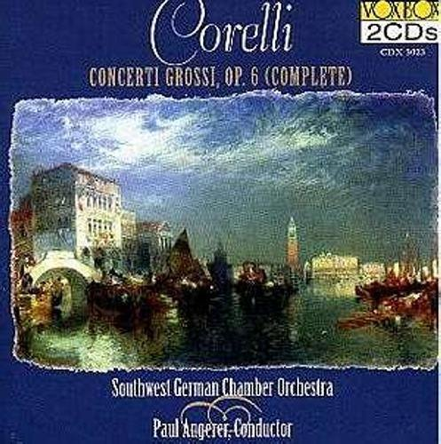A. Corelli Concerti Grossi Op. 6 (complet Southwest German Chamber Orche