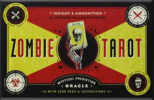 Paul Kepple Zombie Tarot Cards The An Oracle Of The Undead With Deck And Instruction