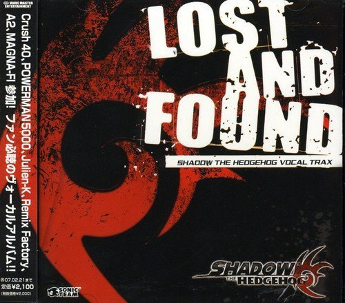 Lost & Found Shadow The Hedgeh Shadow The Hedgehog Vocal Trax Import Jpn