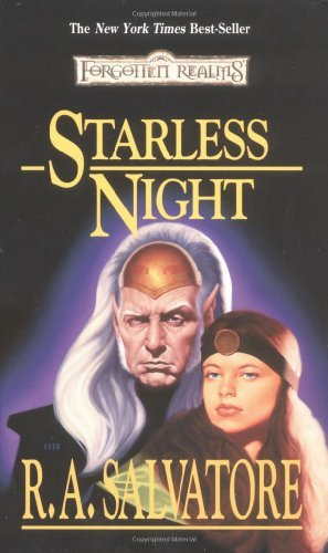 R. A. Salvatore Starless Night Forgotten Realms Legacy Of The Drow Book 2