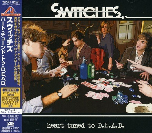 Switches Heart Tuned To D.E.A.D. Import Jpn Lmtd Ed. Incl. Bonus Tracks