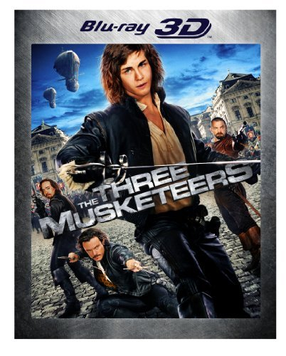 Three Musketeers 3d (2011) Lerman Bloom Jovovich Ws Blu Ray Pg13