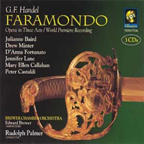 George Frideric Handel Faramondo 3 CD