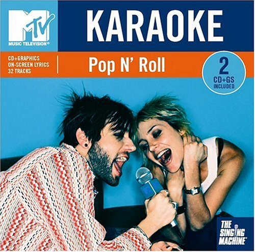 Singing Machine Karaoke Mtv Pop N' Roll Karaoke Incl. Cdg