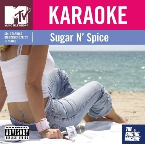 Singing Machine Karaoke Mtv Sugar N' Spice Karaoke