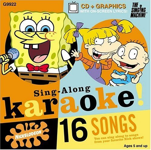 Singing Machine Karaoke Vol. 2 Nickelodeon Karaoke