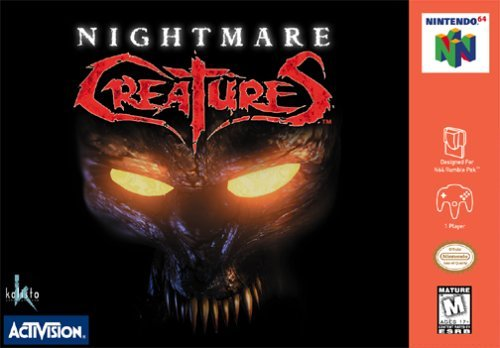 Nintendo 64 Nightmare Creatures