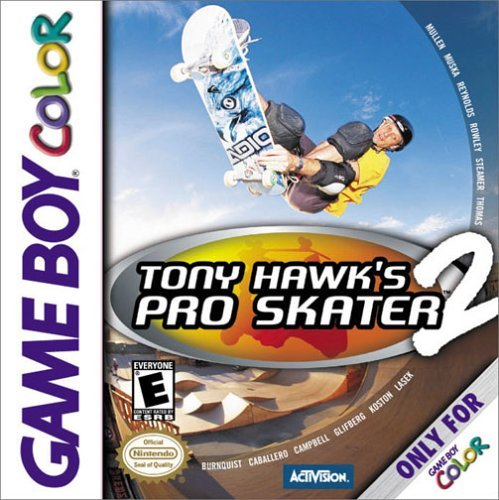 Gameboy Color Tony Hawk 2 E