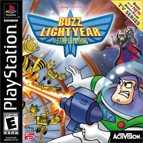Psx Buzz Lightyear Of Star Command E