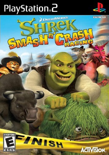 Ps2 Shrek Smash 'n' Crash
