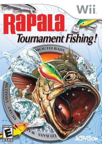 Wii Rapala Pro Tournament Fishing Activision T