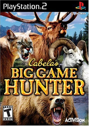 Ps2 Cabela's Big Game Hunter Activision Rp