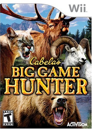 Wii Cabela's Big Game Hunter Rp