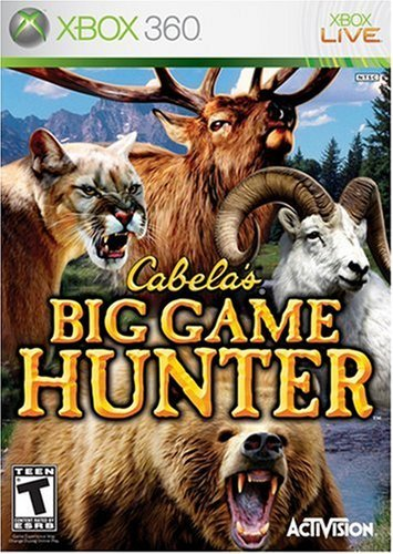 Xbox 360 Cabela's Big Game Hunter