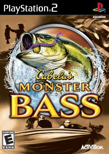 Ps2 Cabela's Monster Bass