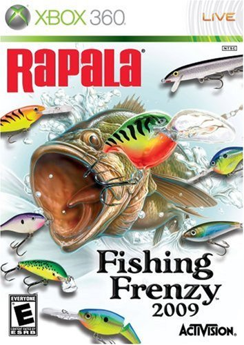 Xbox 360 Rapala Fishing Frenzy