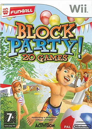 Wii 20 Party Games Family Friendl
