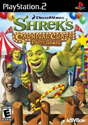 Ps2 Shrek's Carnival Craze